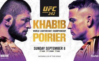 Результаты турнира UFC 242: Хабиб Нурмагомедов – Дастин Порье