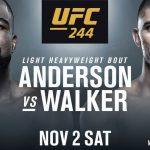 Видео боя Кори Андерсон — Джонни Уокер UFC 244