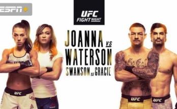 Результаты турнира UFC Fight Night 161: Йоанна Енджейчик – Мишель Уотерсон