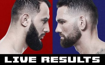 Результаты турнира UFC on ESPN 6: Крис Вайдман — Доминик Рейес