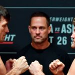 Результаты взвешивания турнира UFC Fight Night 162: Бен Аскрен - Демиан Майя