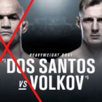 Джуниор Дос Сантос не сможет провести бой против Александра Волкова на UFC Moscow