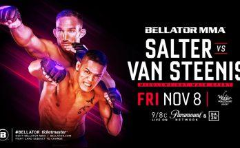 Прямая трансляция Bellator 233: Джон Солтер — Костелло ван Стинис