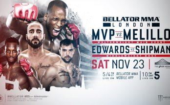 Прямая трансляция Bellator 235: Майкл Пейдж – Джованни Мелилло