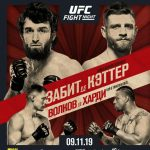 Результаты турнира UFC Fight Night 163: Забит Магомедшарипов — Келвин Каттар