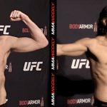Результаты взвешивания турнира UFC 244: Хорхе Масвидаль - Нейт Диас