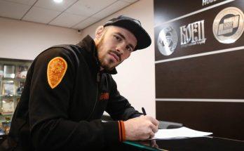 Российский боец Роман Богатов подписал контракт с UFC