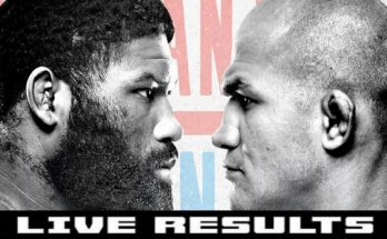 Результаты турнира UFC Fight Night 166: Кертис Блэйдс — Джуниор Дос Сантос