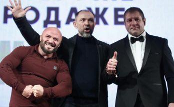 Александр Емельяненко поспорил что не будет пить целый год