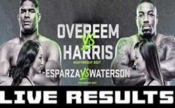 Результаты турнира UFC Fight Night 172: Алистар Оверим – Уолт Харрис