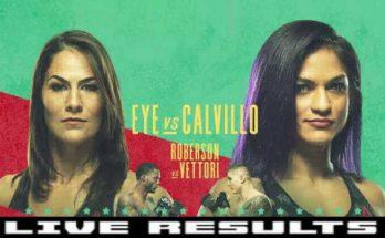Результаты турнира UFC on ESPN 10: Джессика Ай — Синтия Кальвильо