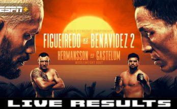 Результаты турнира UFC Fight Night 172: Дейвисон Фигейреду – Джозеф Бенавидес 2