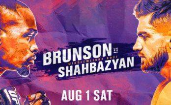Прямая трансляция UFC Fight Night 173: Дерек Брансон — Эдмен Шахбазян