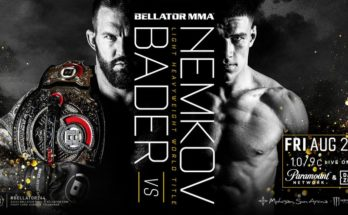 Прямая трансляция Bellator 244: Райан Бейдер — Вадим Немков
