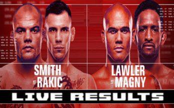 Результаты турнира UFC Fight Night 175: Энтони Смит — Александр Ракич, Магомед Анкалаев — Ион Куцелаба 2