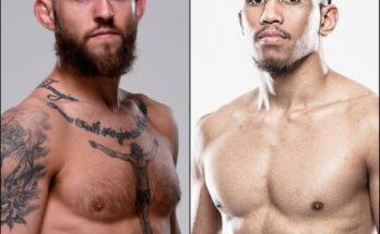 Видео боя Брайан Келлехер — Кевин Нативидад UFC Fight Night 176