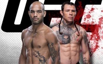Видео боя Фрэнк Камачо — Брок Уивер UFC Fight Night 177