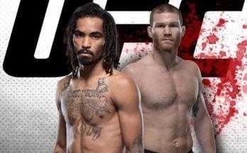 Видео боя Мэтт Фревола — Рузвельт Робертс UFC Fight Night 177