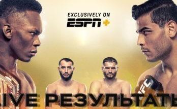 Результаты турнира UFC 253: Исраэль Адесанья — Пауло Коста, Доминик Рейес — Ян Блахович
