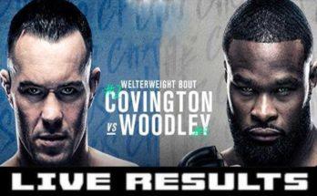 Результаты турнира UFC Fight Night 178: Колби Ковингтон – Тайрон Вудли