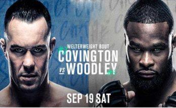 Прямая трансляция UFC Fight Night 178: Колби Ковингтон – Тайрон Вудли
