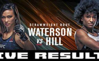 Результаты турнира UFC Fight Night 177: Мишель Уотерсон — Анджела Хилл