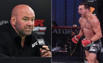 Дана Уайт подтвердил заинтересованность UFC в подписании контракта с Майклом Чендлером