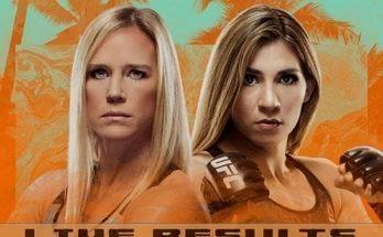 Результаты турнира UFC on ESPN 16: Холли Холм — Ирен Алдана