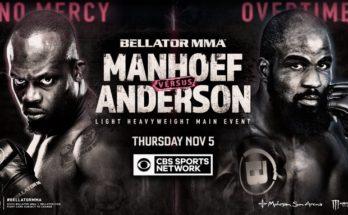 Кори Андерсон и Мелвин Манхуф проведут бой на Bellator 251