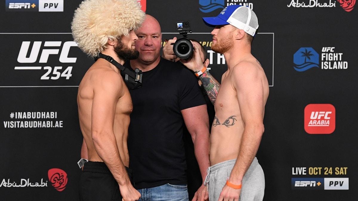 смотреть онлайн: Хабиб – Гейджи UFC 254