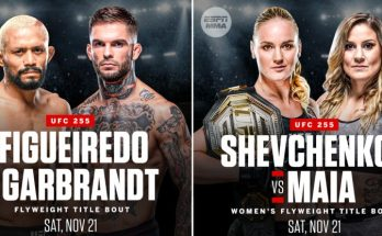UFC 255 – что смотреть в главном карде?