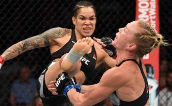 Аманда Нунис и непобежденные бойцы UFC