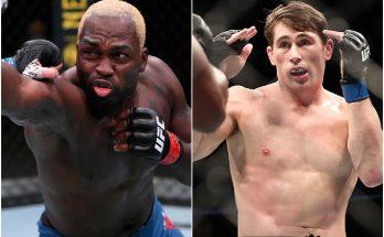 UFC Fight Night 191: смотреть онлайн Брансон — Тилл 4 сентября